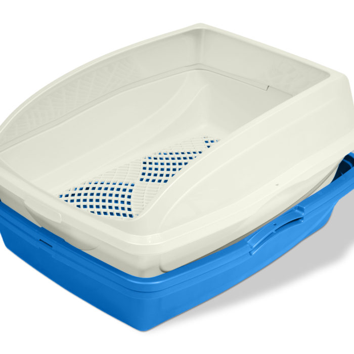 Framed Sifting Cat Litter Pan (product)