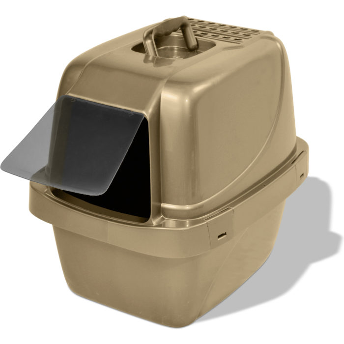 Enclosed Sifting Cat Litter Pan (product)