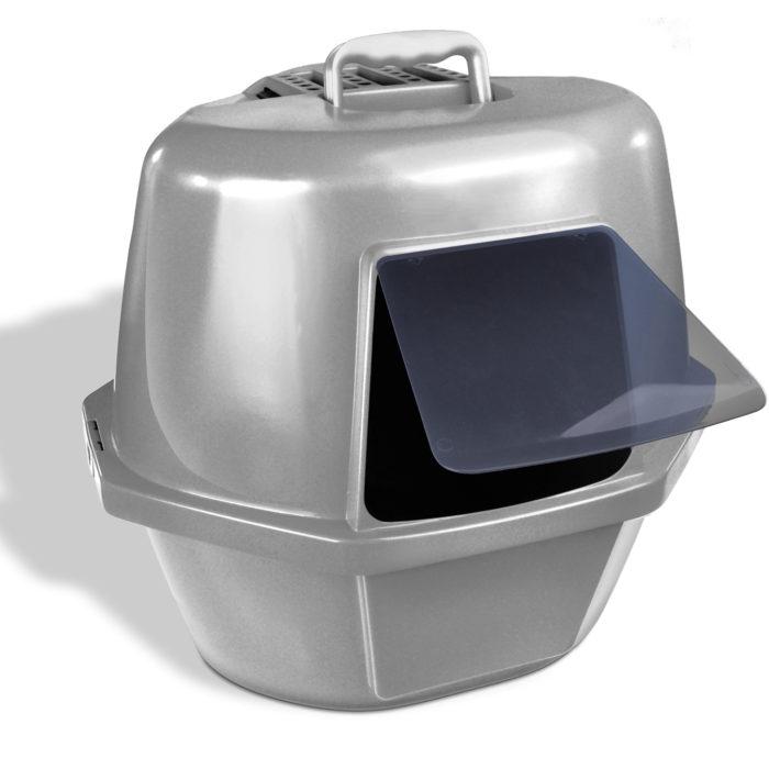 Corner Enclosed Cat Pan (product)