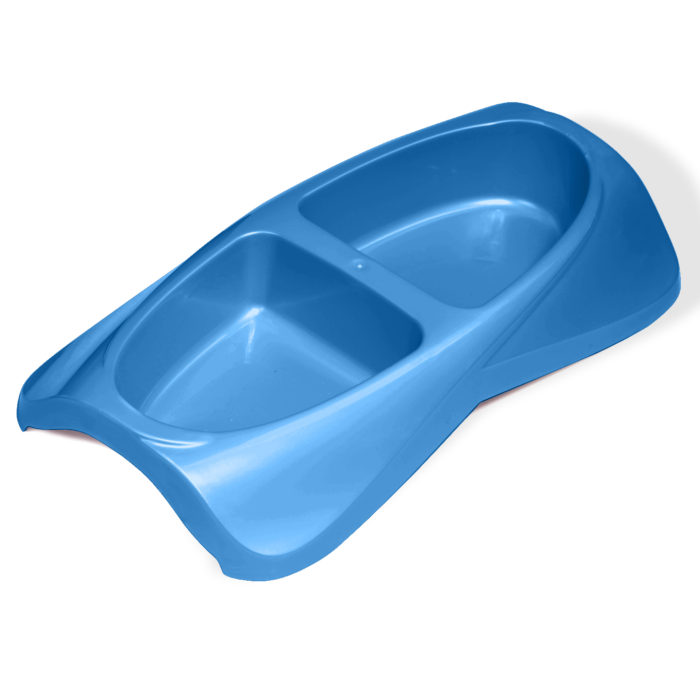 Small Lightweight Double Dish