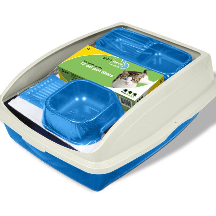 Cat Starter Litter Pan (product)